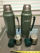 7 Total Items Vintage Aladdin Stanley Quart Thermos Vaccum Bottle Hot/cold +more