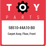 58510-44a10-b0 Toyota Carpet Assy Floor Front 5851044a10b0 New Genuine Oem Pa