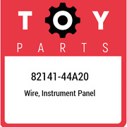 82141-44a20 Toyota Wire, Instrument Panel 8214144a20, New Genuine Oem Part