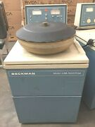 Beckman J6-b Centrifuge With Js-4.2 6 Liter Rotor With Buckets And Adapters