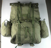 Military Field Bag Surplus Chinese Pla Army Airborne Backpack Rucksack Pack