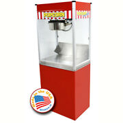 Classic Pop 14 Ounce Popcorn Machine With Stand Combo