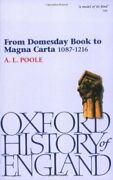 From Domesday Book To Magna Carta 1087-1216 Th Poole-