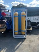 Cylinder Holder With 4 X 5000 Psi Cylinders Included