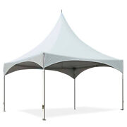 20x20and039 White Wedding Canopy Waterproof High Peak Frame Tent Party Event Marquee