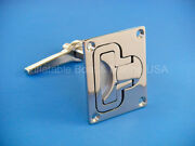 Boat Lift Handle Ring Turning Lock Latch Marine 316 Stainless Steel