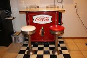 Coca-cola Cooler Lunch Counter