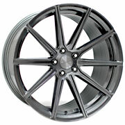 20 Stance Sf09 Grey 20x9 Concave Forged Wheels Rims Fits Volkswagen Passat