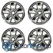 New 20 Replacement Wheels Rims For Dodge Ram 1500 2002-2004 Set Chrome Clad