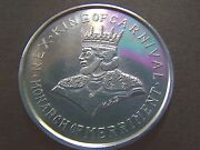 Xrare 1965 Rex Has Once Upon A Rhyme Plain Aluminum Mardi Gras Doubloon