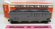 Lionel 6-17113 Lehigh Valley Three-bay Hopper With Simulated Coal Load