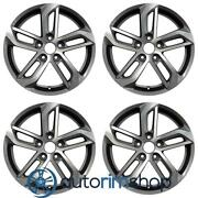 New 18 Replacement Wheels Rims For Chevrolet Equinox 2016 2017 Set Machined ...