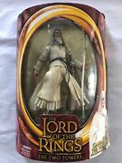 Lord Of The Rings The Two Towers Gandalf The White With Staff Extending Action