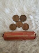 1 Roll Of 1944 Lincoln Wheat Pennies...circulated/ungraded...