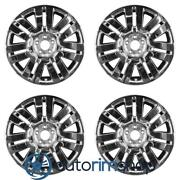 New 20 Replacement Wheels Rims For Ford Edge 2008 2009 2010 Set Chrome Clad