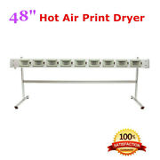48 Sectional Controllable Hot Air Print Dryer For Mutoh Roland Mimaki Printer
