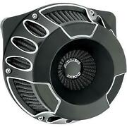 Arlen Ness 18-929 Inverted Series Air Cleaner Kits For V-twin Black Deep Cut