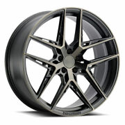 19 Xo Cairo Grey 19x8.5 19x11 Forged Concave Wheels Rims Fits Audi R8 V10