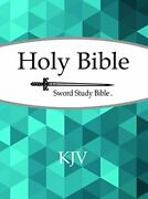 King James Version Sword Study Bible Personal Size Large Print By House New-,
