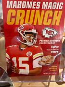 Hyvee Limited Edition Patrick Mahomes Magic Crunch Cereal. Unopened Box