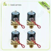 1/2 Npt Air Ride Suspension Valve Electric Solenoid Brass For Train Horn Fast 4