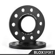 2pc 12mm + 2pc 15mm For Bmw X5 M M7x Wheel Spacer 5x4.75 Cb72.5 Rear/ 74.1front