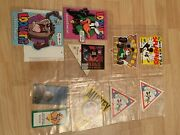 Rare Vintage Antique Misc Disney Collectible Tags Paper Plates Luggage Tags
