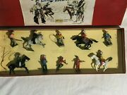 Britains Set 272 North American Cowboys And Indians