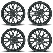 20 Xo Phoenix Black 20x9 Forged Concave Wheels Rims Fits Toyota Camry