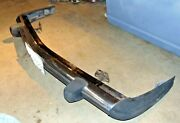 1976 Mercedes Benz R107 280sl Roadster 4 Speed-front Bumper Assembly-nice -t2