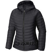 New Womens Columbia White Out Ii Omni-heat Insulated Hooded Winter Jacket