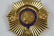 Honorary Governor General Badge With Indian Head Coin Looking Centerpiece 1950and039s
