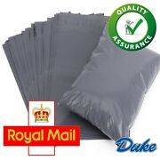 10 X 14 Grey Mailing Bags Strong Parcel Postage Plastic Post Poly Self Seal