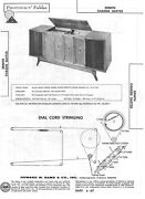 Sams Photofact Schematic For Various Zenith Stereo Console Chassis Sent As Pdf
