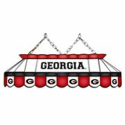 Georgia Bulldogs Mvp 40 Stained Glass Pool Table Lamp