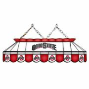 Ohio State Buckeyes Mvp 40 Stained Glass Pool Table Lamp