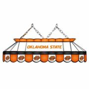 Oklahoma State Cowboys Mvp 40 Stained Glass Pool Table Lamp