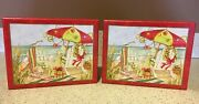Lang A Beachy Christmas Boxed Christmas Cards Lot Of 2 Susan Winget 36 Cards New