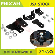 5 Rise 3 Way Lawn And Garden Tractor Hitch With Support Brace Kit