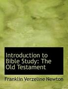 Introduction To Bible Study The Old Testament