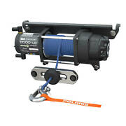 Polarisandreg Pro Hd 6000 Lb. Winch With Rapid Rope Recovery