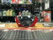 Ducati Monster Red Cowling And Windshield