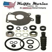 Lower Unit Gearcase Seal Kit For Mercury 9.9 15 18 20 25 Hp 26-85090a2 18-2624