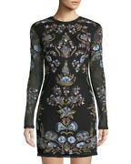 350 Free People Party Royal Bodycom Embroidered Dress Size 6