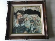 Antiques And Old Lace By Artist Corinne Layton Lithograph Print Sighed And Singed