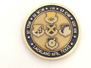 Us Air Force Lackland Afb Middle Managers Association Usaf Challenge Coin