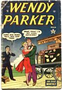 Wendy Parker 1-1953-patsy Walker Appears-romance Cover-stan Lee-very Rare-gi...