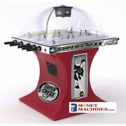 Super Chexx Bubble Hockey Table - Pro Home Red Base