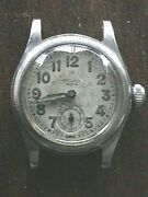 Vintage C1940and039s Rolex Oyster Solar Aqua Sub Seconds Wind-up Wrist Watch