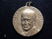 1960 Peace And Prosperity Dinner With Ike Medal Ww357sxx2